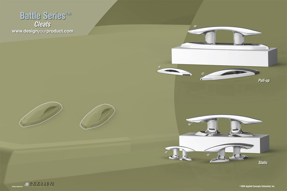 Marine Product Design - Applied Concepts Unleashed Yacht Design