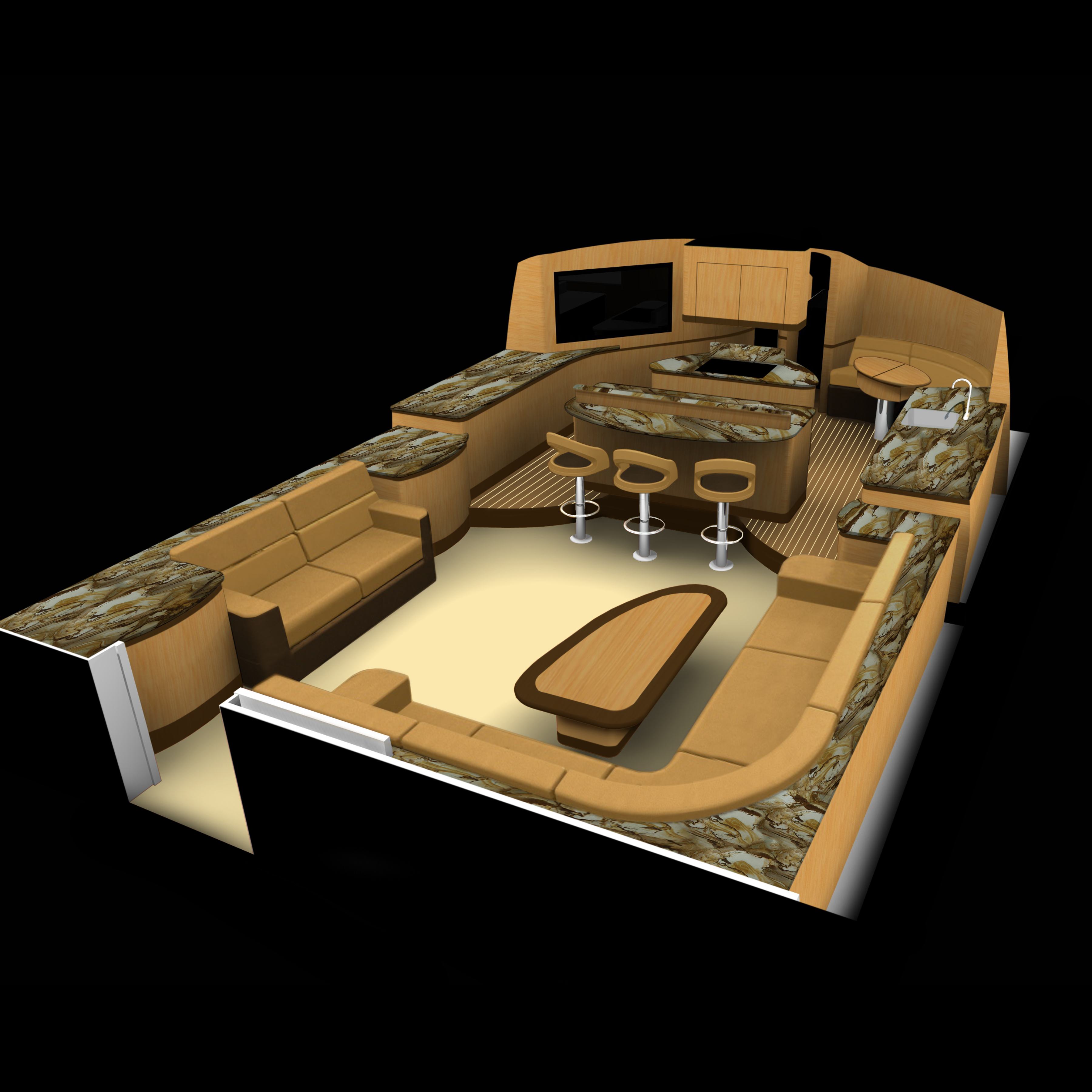 Interior Decor - Applied Concepts Unleashed Yacht DesignApplied ...